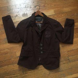 Calvin Klein Jeans brown blazer coat